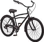Schwinn Mikko & Huron Adult Beach Cruiser Bike, Featuring Steel Step-Over