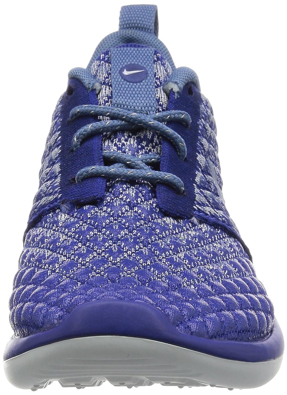 4b4513a8a5bb ... Nike Women s Roshe Two Flyknit Deep Deep Deep Royal Blue Ocean Fog  Ankle-High ...
