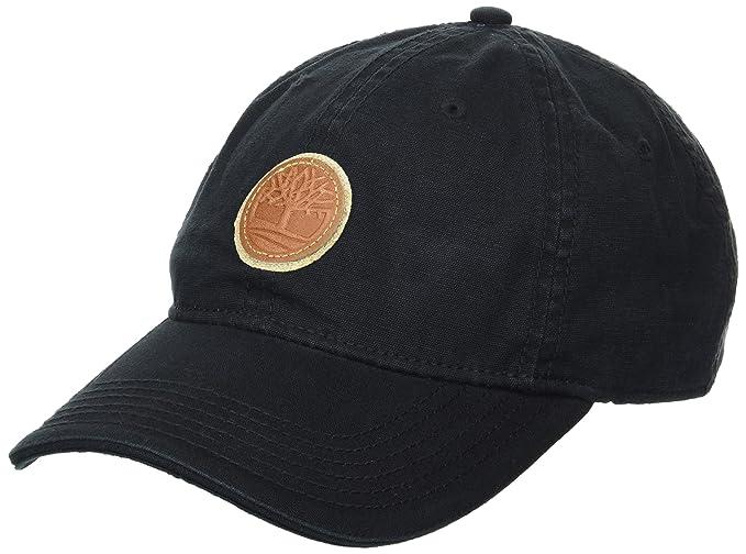91d58b805082 Timberland Gorra de béisbol de Lona de algodón para Hombre, Black ...