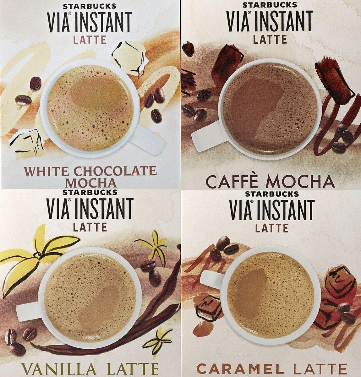 Amazon.com : Starbucks Via Peppermint Mocha Latte