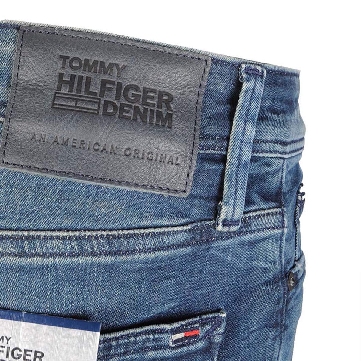 Hilfiger Denim, Herren Jeans Hose, Simon Skinny,Dynamic Stretch Denim,Dynamic Aged Blue [19024]