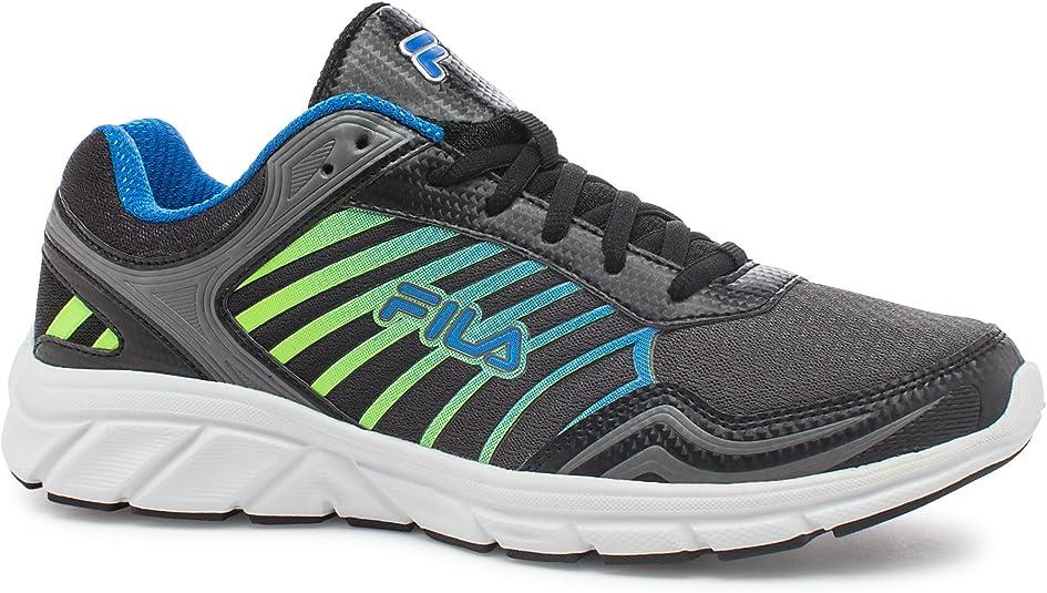 Fila Gamble Tenis para Correr para Hombre, Negro (Black, Castlerock, Electric Blue Lemonade), 45 EU: Amazon.es: Zapatos y complementos