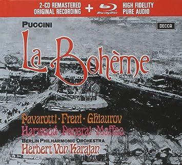 La Boheme Herbert Von Karajan Berlin Philharmonic Giacomo