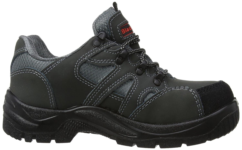 schwarzrock Sf35, Unisex-Erwachsene Sicherheitsschuhe, Grau (schwarz/Grau), 36 EU UK) (3 UK) EU Grau (schwarz/Grau) d0bdbd