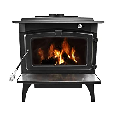 Pleasant Hearth Large Wood Burning Stove