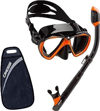 Cressi Ranger & Tao - Unisex Combo Set Máscara y Snorkel