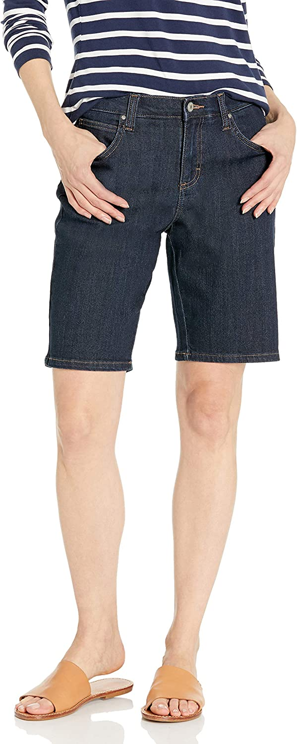 Lee Uniforms Womens Relaxed-fit Bermuda Short