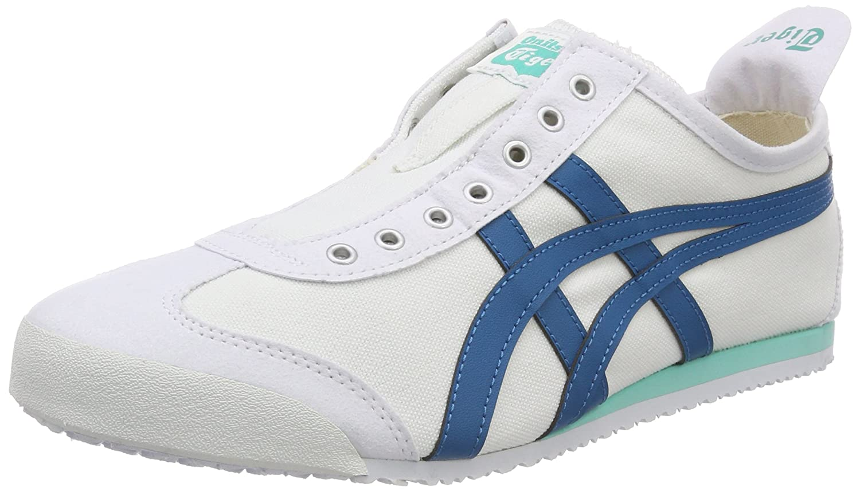 Asics Damen Onitsuka Tiger Mexico 66 Slip-on Sneaker  40 EU|Wei? (White/Turkish Tile 0146)