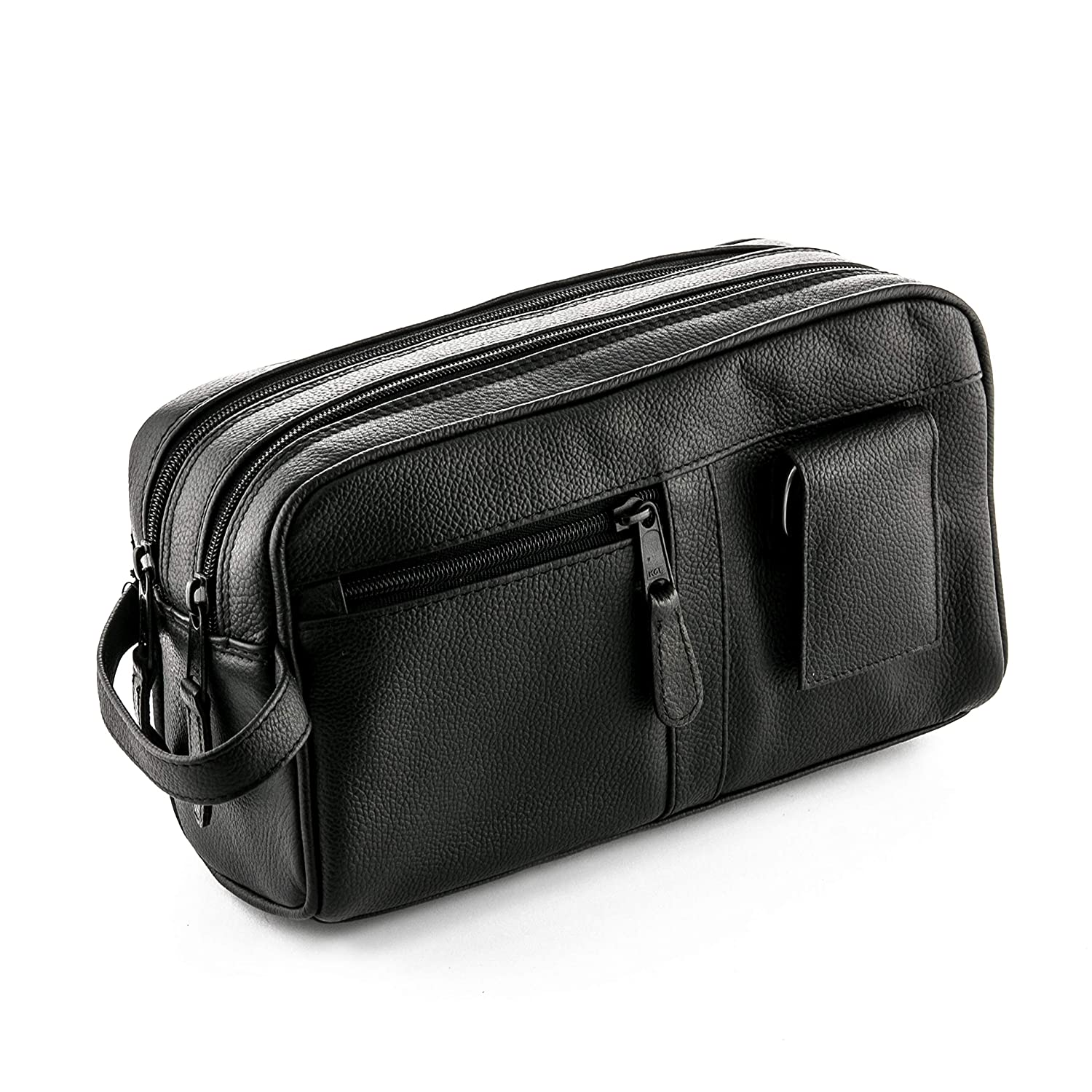 ZOHL Leather Travel Toiletry Bag With Manicure Set Made in Germany ZO1850MS