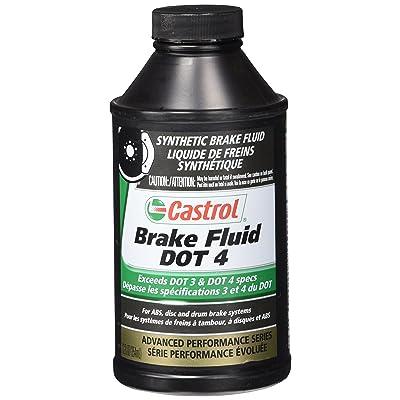 Castrol 12509 Dot 4 Brake Fluid (12 Oz): Automotive