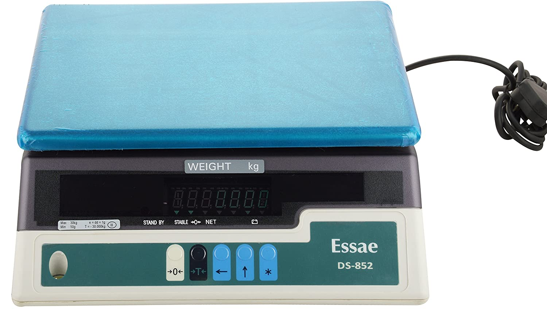 Keygear ESSAE Teraoka 30 Kg X 1 G Digital Weighing Scale ( Tabletop ):  Amazon.in: Amazon.in