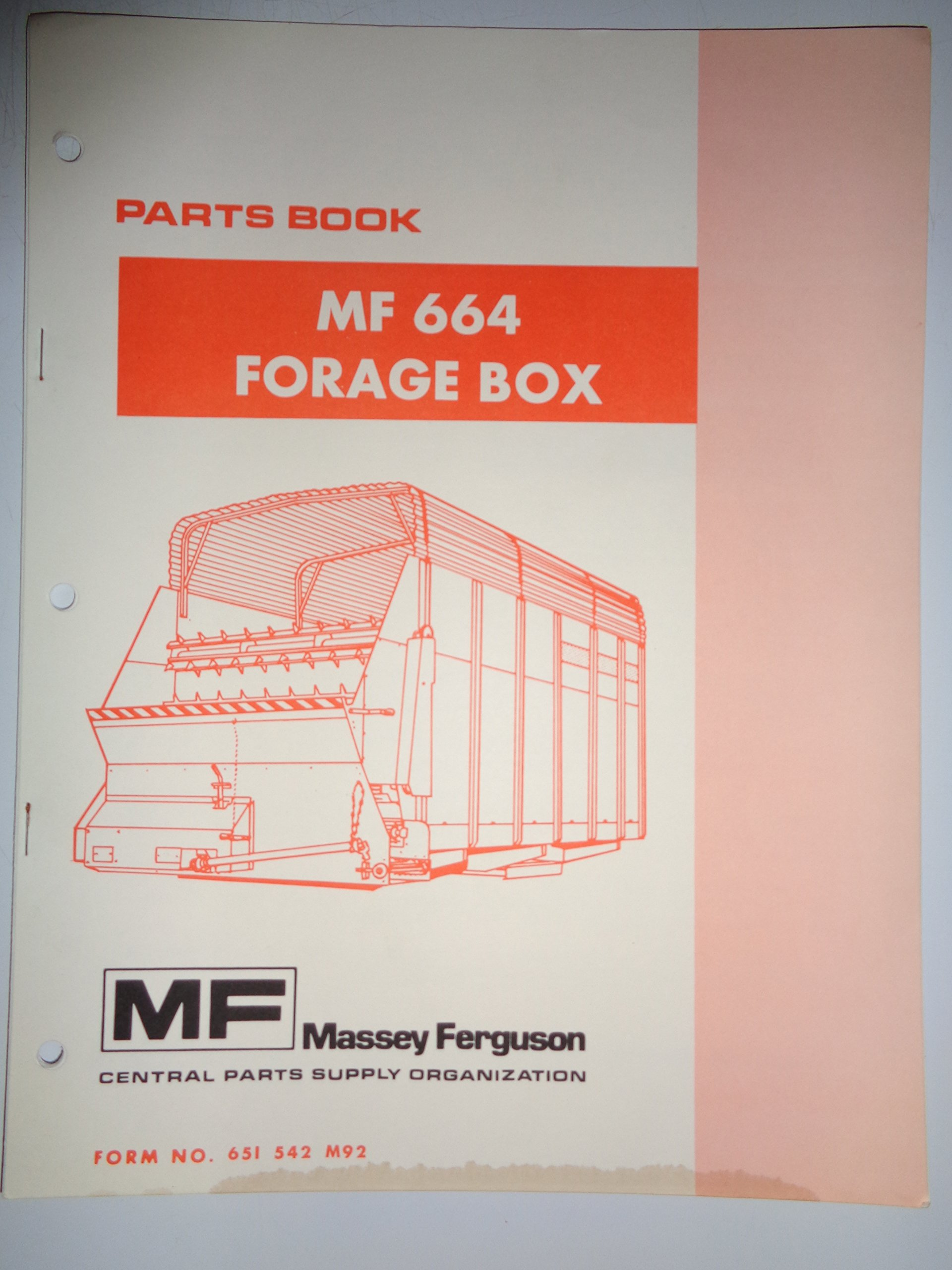Original Manual Other Ferguson Forager Instruction Book ............................