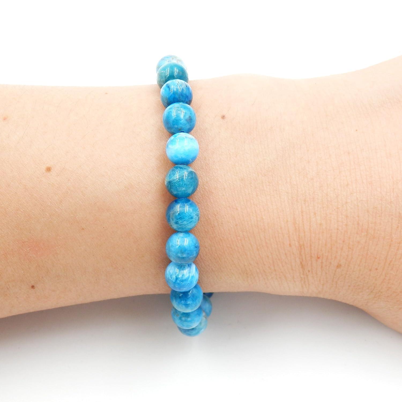 100/% Natural AAA Grade Precious Gemstone Healing Balance Stretch Bracelets