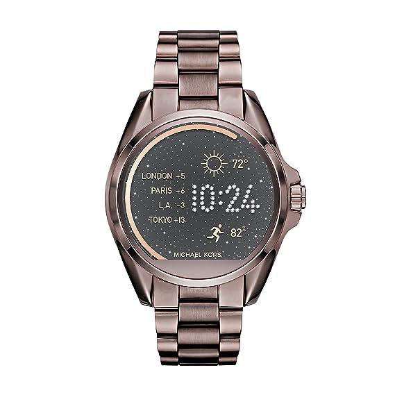 fe8bf26830 Michael Kors Smartwatch Analogico Digitale da Donna con Cinturino in  Acciaio Inox MKT5007: Amazon.it: Orologi
