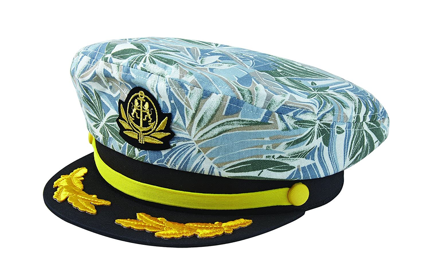Broner Yacht Rock Patterned Print Yacht Cap