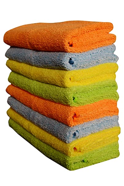 Sheen & Shine Cleaning Cloth Auto Care 8 Pack