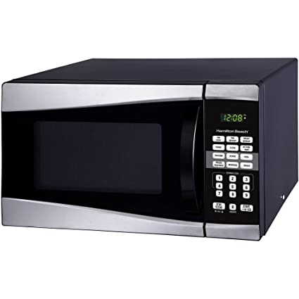 Amazon.com: Hamilton Beach 0.9 Cu. Ft. 900W Microwave ...
