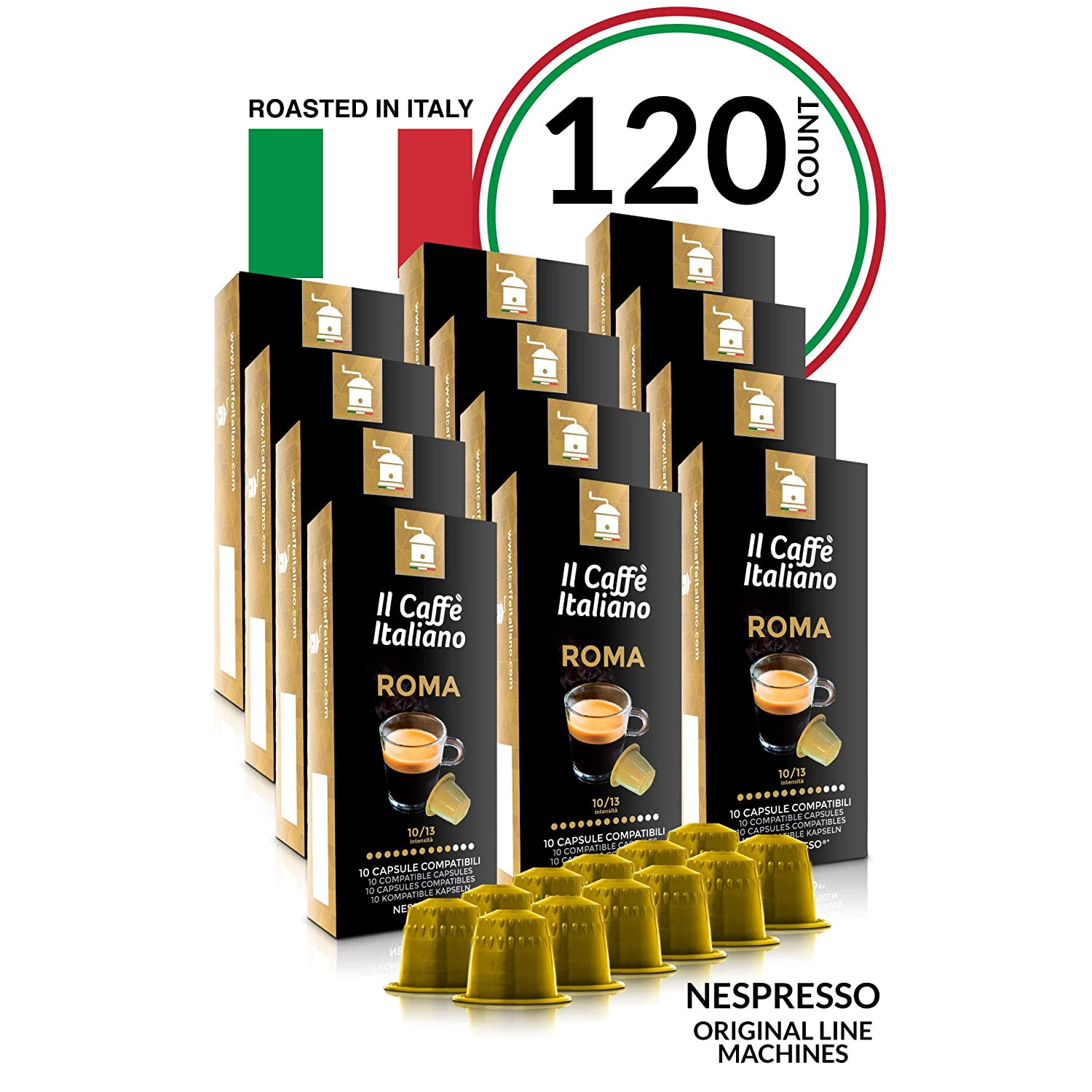 Il Caffé Italiano Coffee Nespresso Compatible Capsules Review