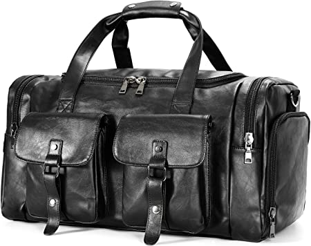 Zeroway Travel Duffel Leather Luggage
