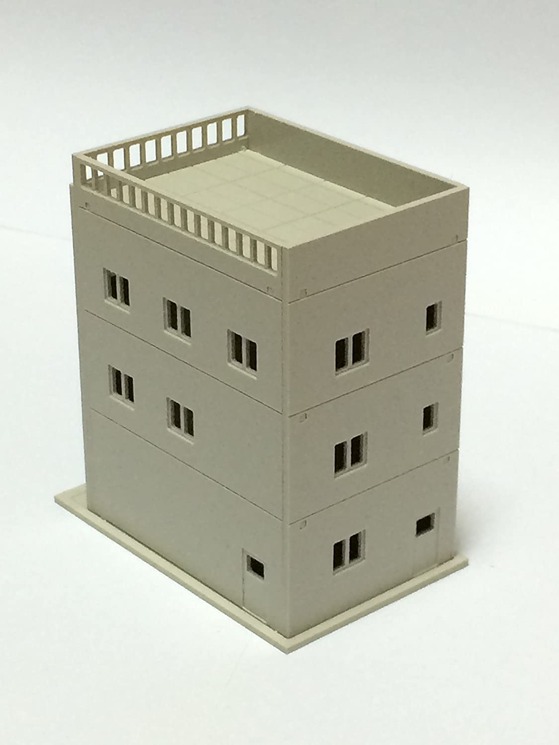N Scale 1:160 Outland Building Model 3 Story Dress Store Outland Building Model