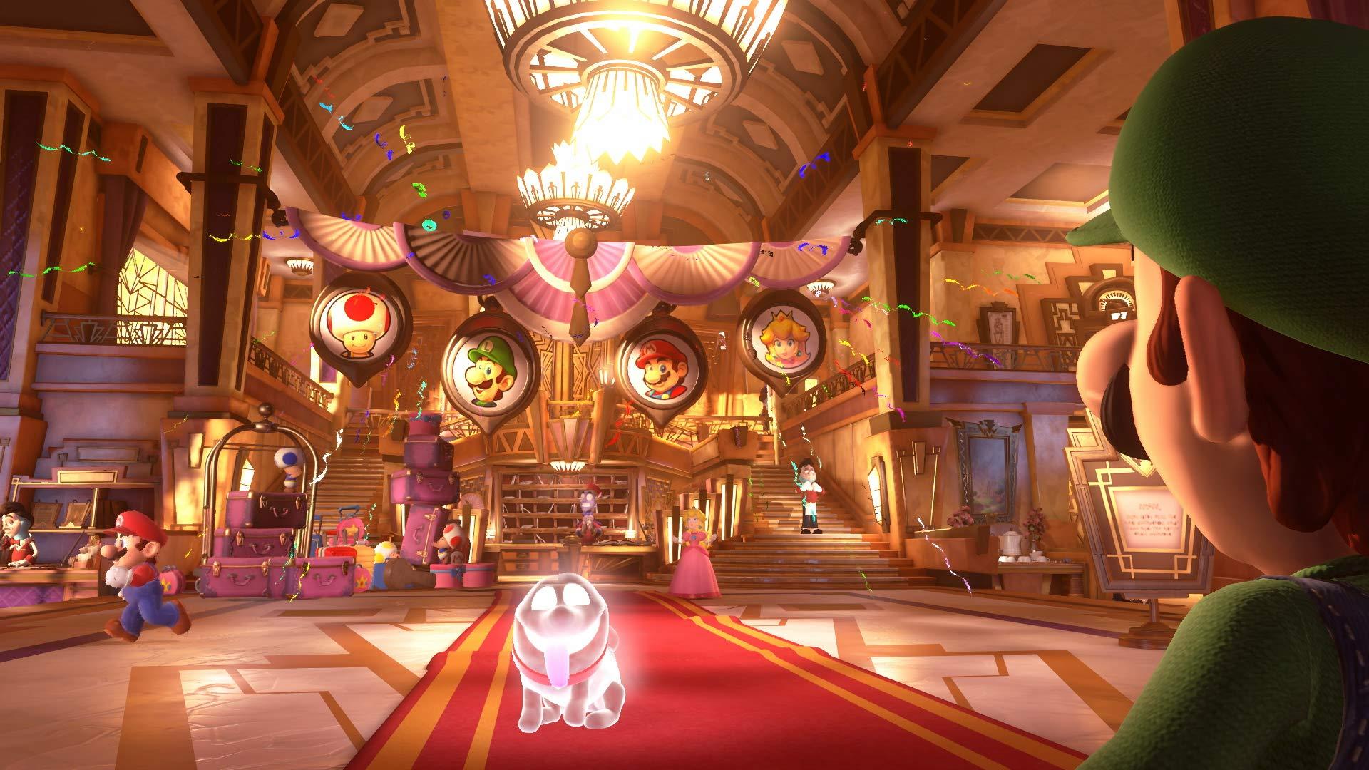 Luigi's Mansion 3 Standard Edition - Nintendo Switch by Nintendo (Image #2)
