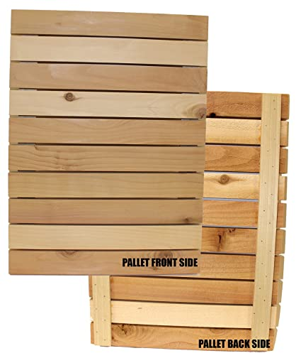 Wood Block Crafts - Rustic Wood Pallet Approximately 14