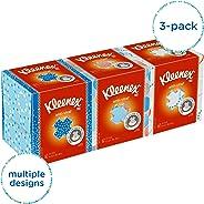 Kimberly-Clark Professional 21286 Kleenex Anti-Viral Facial Tissue Cube, Pack of 3