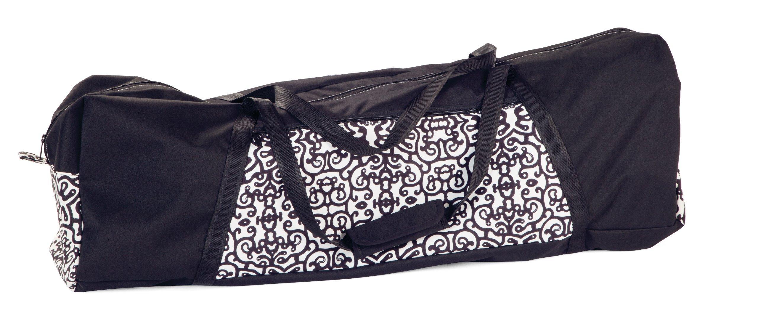 Peg Perego Pliko Mini Ghiro Travel Bag, Black/White by Peg Perego (Image #1)