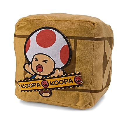 Super Mario Bros Paper Mario Bigbox Cojín - Toad: Amazon.es ...