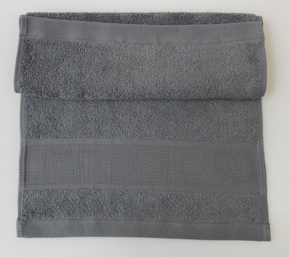 Azure Blue Guest Towel Rico Design