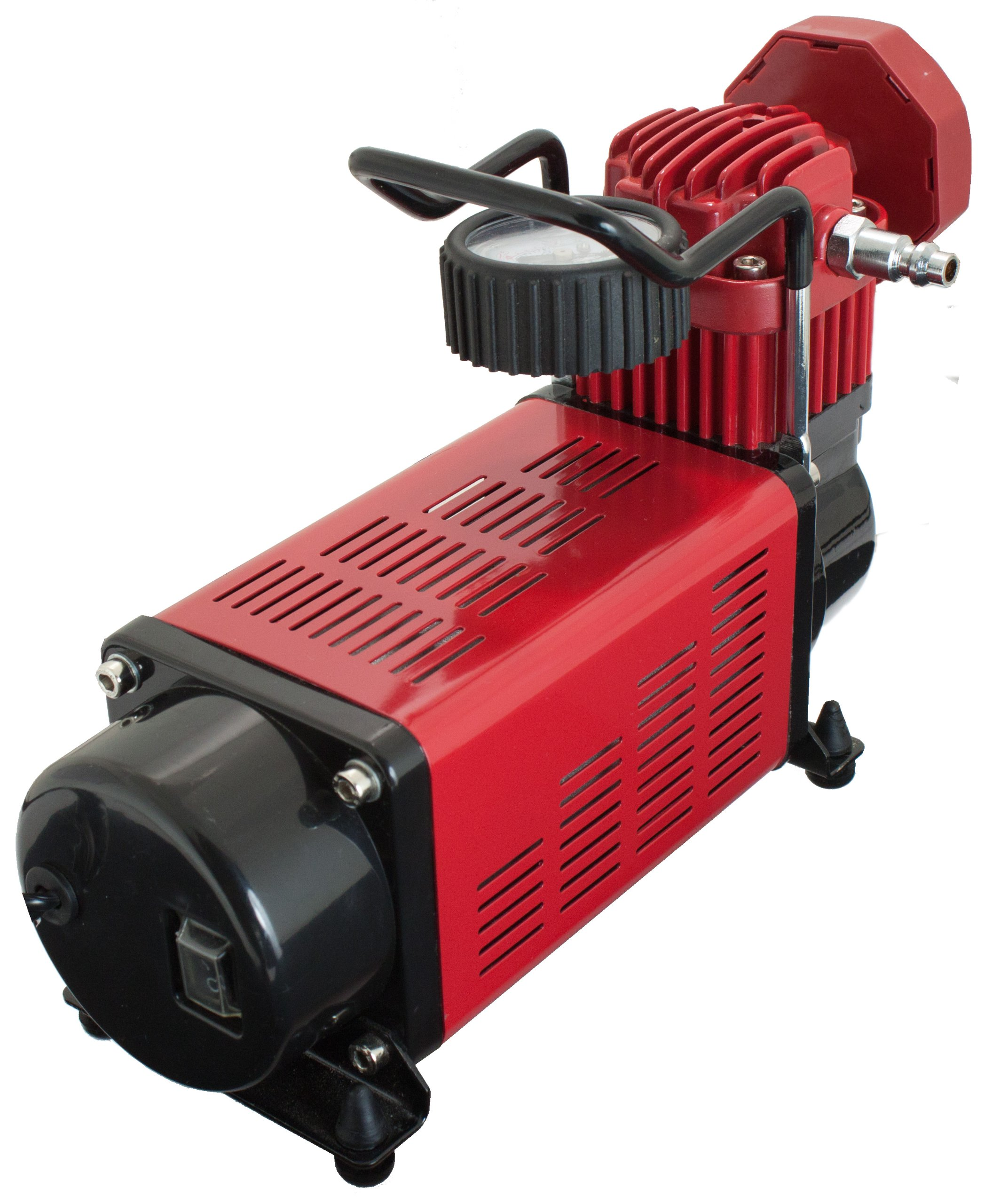 Q Industries 12 Volt Air Compressor, Portable Air Pump, 12 volt, Tire Inflator, MV-50 Air Compressor by SuperFlow for inflating full size 4 x 4, Jeep, truck, SUV and RV Tires by Q Industries (Image #6)