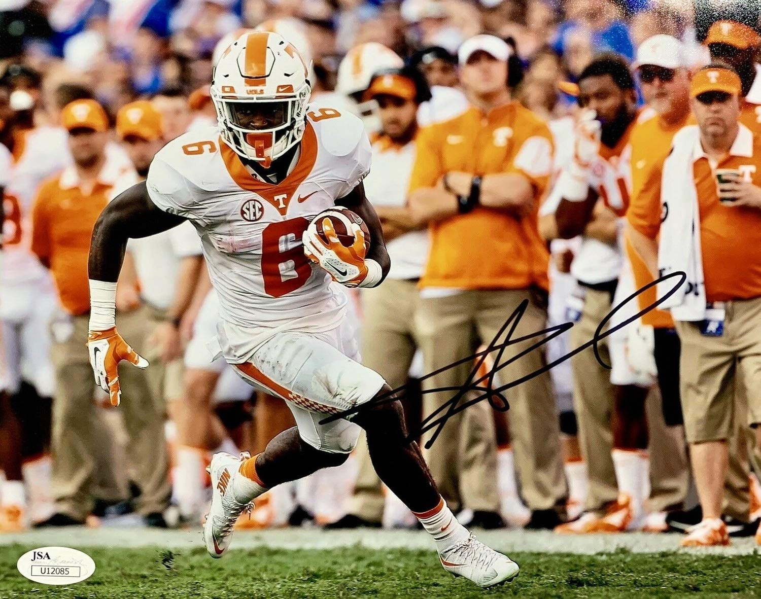 d14e1ba4 Alvin Kamara Autographed Signed Autograph Tennessee Volunteers 8x10 Photo  JSA Authentic U12085 at Amazon's Sports Collectibles Store