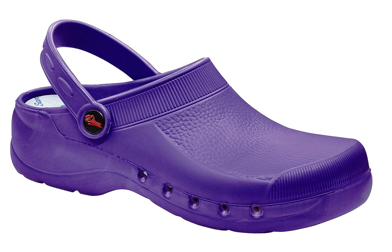 Dian Eva - Zueco unisex-adulto, talla 38, color violeta