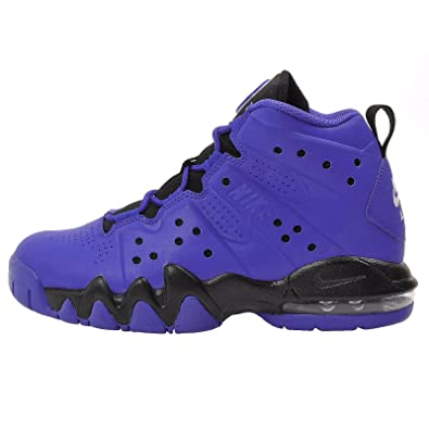 low priced 8d40c d33a3 NIKE Air Max Barkley (GS) Boys Basketball Shoes 488245-401 Game Royal 5