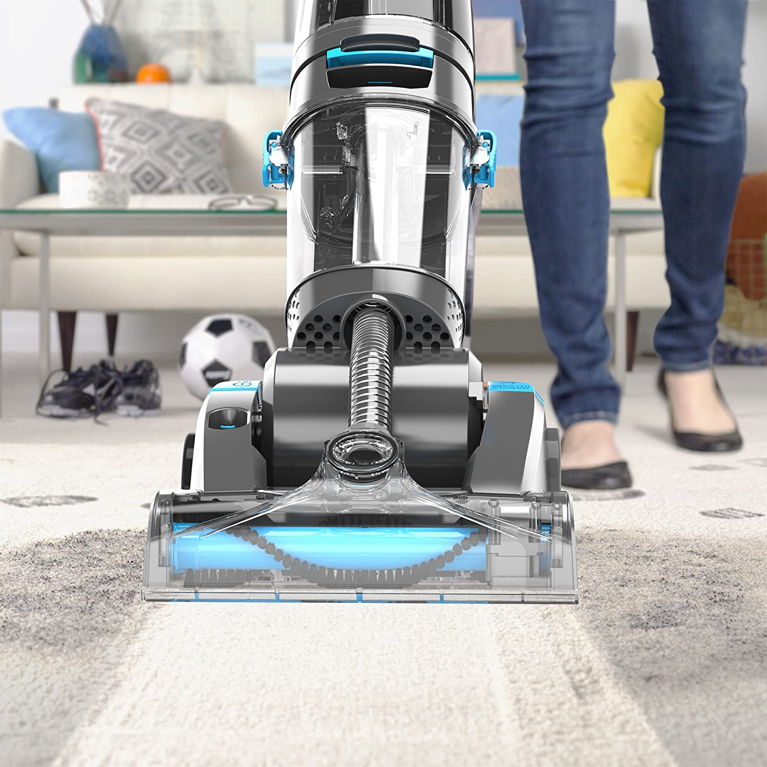 Vax 4 2l Dual Power Pet Advance Carpet Cleaner Stairs