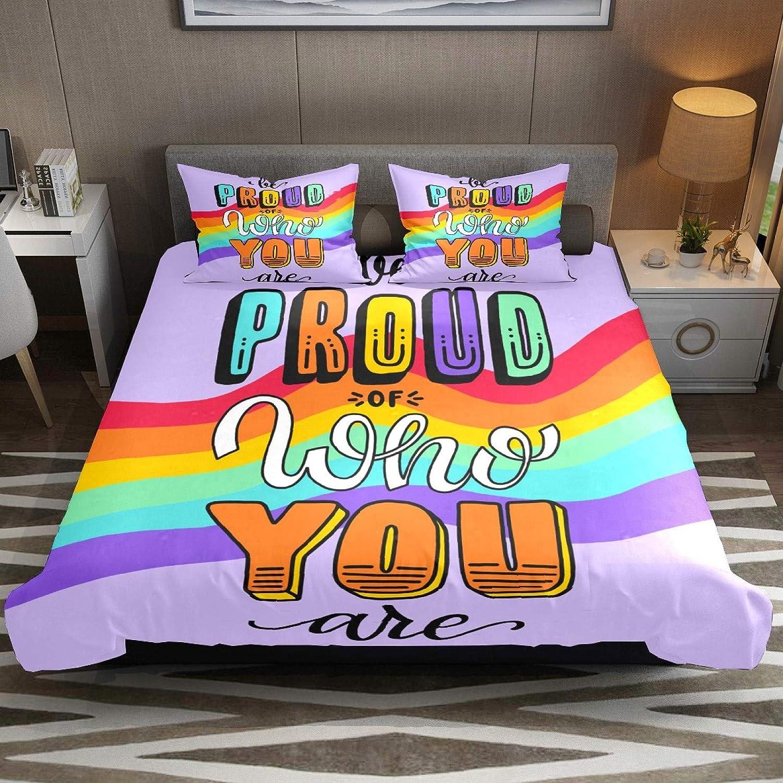 N\O Juego de ropa de cama transpirable, con texto en inglés