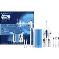 Oral-B Pro 2000 + Oxyjet -  Estación de cuidado bucal, cepillo eléctrico Oral-B Pro 2000 e irrigador Oxyjet, blanco/azul