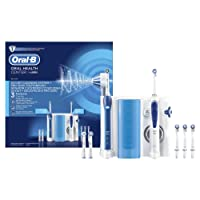 Oral-B Pro 2000 + Oxyjet - Estación de cuidado bucal, cepillo eléctrico Oral