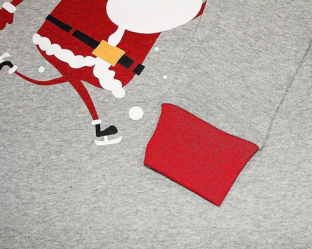 Boys /& Girls Christmas Pajamas Kids 100/% Cotton Santa Clothes Set Sleepwears
