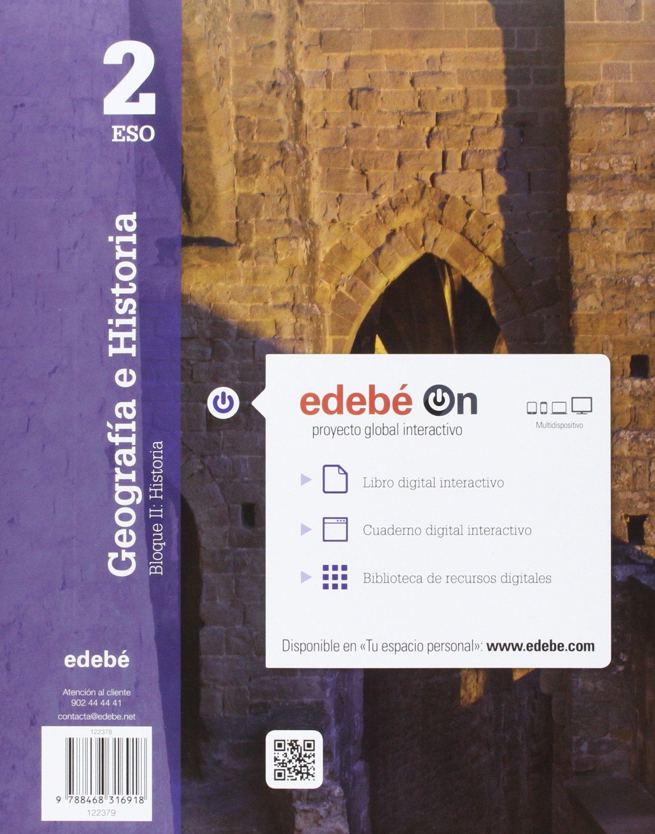 GEOGRAFÍA E HISTORIA 2 - 9788468316918: Amazon.es: Edebé, Obra Colectiva: Libros