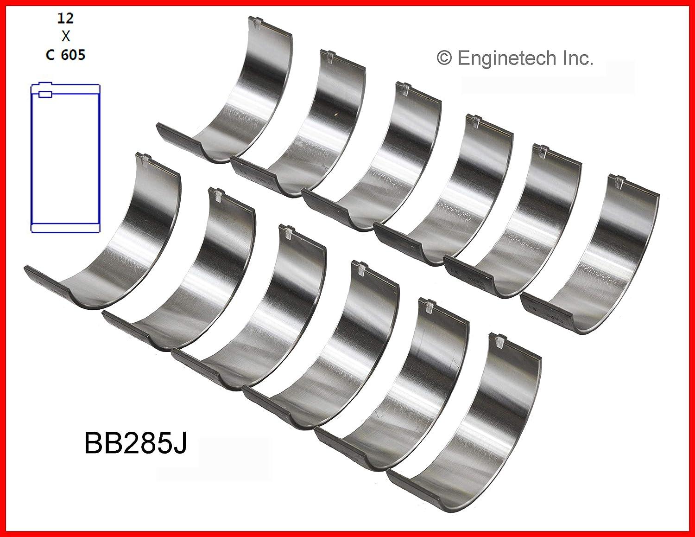 Enginetech BB285JSTD Rod BRNG AMC CHEV ISU 2.8L 173 3.1L 189 3.4L 207