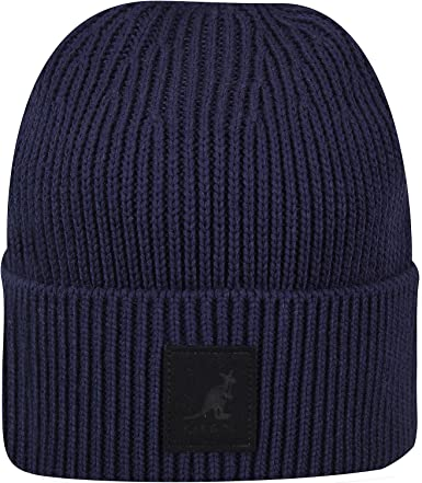 BEANIE MENS ADIDAS FUN WOOLIE OSFA HAT NAVY SIZE ONE SIZE FIT ALL