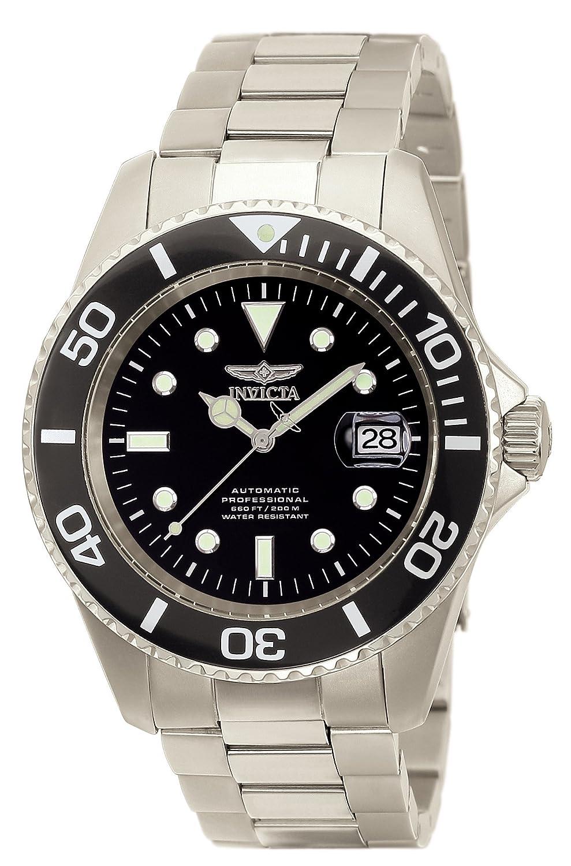Invicta 0420 Pro Diver Reloj para Hombre titanio Automático Esfera negro