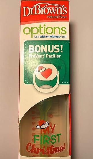 Amazon.com: Dr Browns Options Holiday - Botella para bebé ...