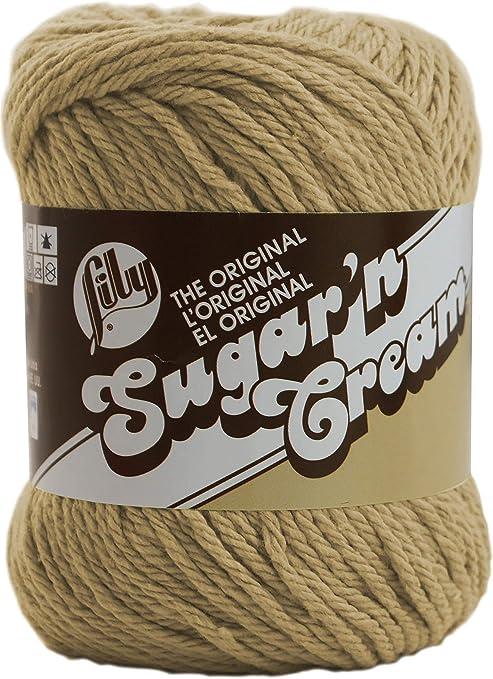 Lily Sugar N Cream - Madeja de algodón, Jute, 2.5 oz: Amazon.es: Hogar