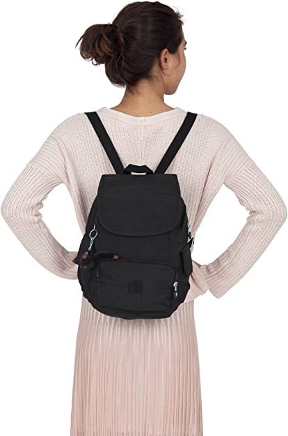 Kipling Basic City Pack S BP Mochila 33,5 cm dazz black: Amazon.es: Zapatos y complementos