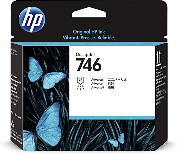 HP P2V25A HP746 cabezal de impresión: Hp: Amazon.es: Oficina y ...