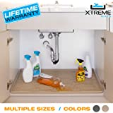 Xtreme Mats Under Sink Bathroom Cabinet Mat, Pick Your Size, CMV-24-BEIGE, Fits cabinets with interior dimensions of 22…