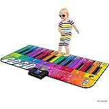 """Play22 Colorful Keyboard Playmat 71"""" - 24 Keys Piano Play Mat - Piano Mat has Record, Playback, Demo, Play, Adjustable…"""