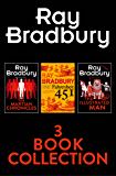 Ray Bradbury 3-Book Collection: Fahrenheit 451, The Martian Chronicles, The Illustrated Man